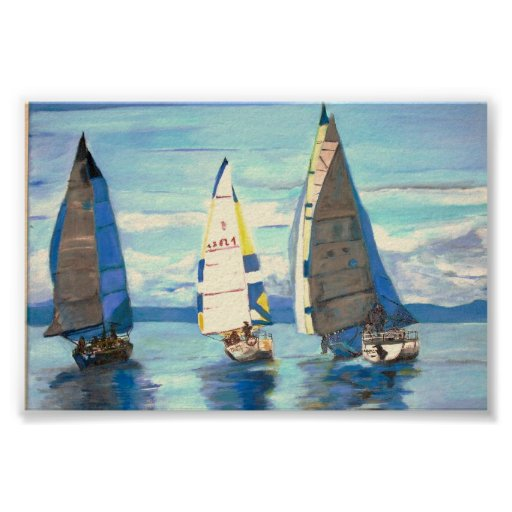 Port Hardy Sailing Regatta -  Poster
