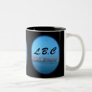 Port Hole to the LBC Two-Tone Coffee Mug