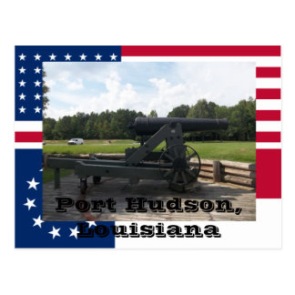 Port Hudson State Park Siege Cannon Display Postcard