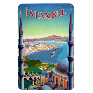 Port in Istanbul Magnet