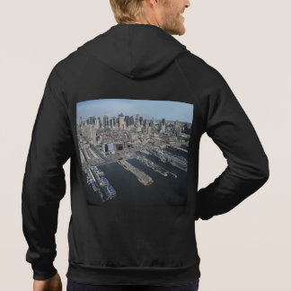 Port in New York City Hoodie