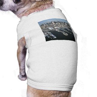 Port in New York City Sleeveless Dog Shirt