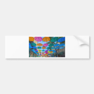 port louis le caudan waterfront umbrellas cap bumper sticker