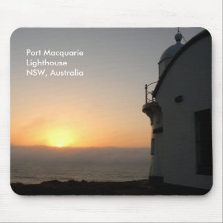 Port Macquarie Lighthouse Sunrise Mouse Pad
