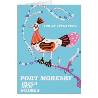 Port Moresby, Papua New Guinea Card