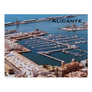 Port of Alicante Postcard