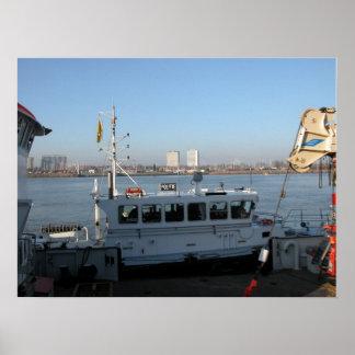 Port of Antwerp, Belgium; support vessels 12 Posters
