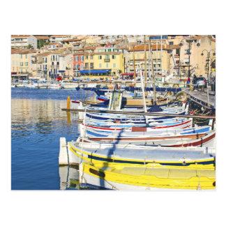 Port of Cassis, France Postcard
