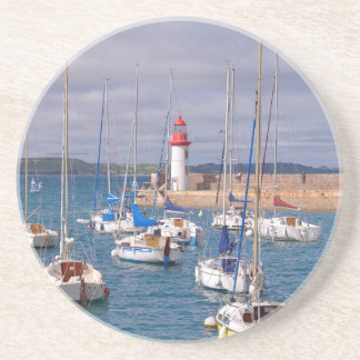 Port of Erquy in France Coaster