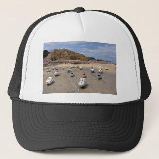 Port of Erquy in France Trucker Hat
