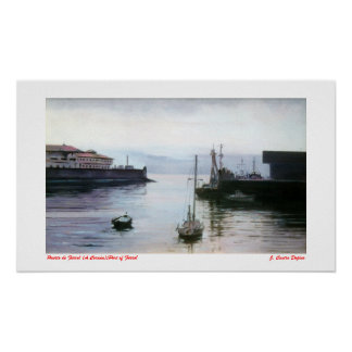 Port of Ferrol (To Corunna) /Port of Ferrol Poster