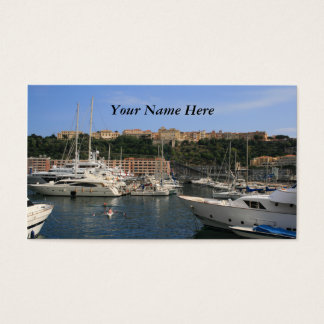 Port of Monaco Business Card