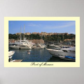 Port of Monaco Posters