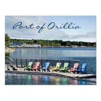 Port of Orillia Postcard