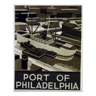 Port of Philadelphia Poster