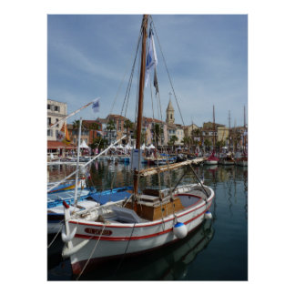 port of Sanary Poster