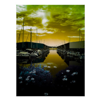 Port Orchard Marina Poster
