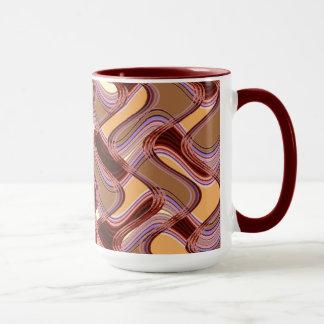Port & Peach Combo Mug by Artist C.L. Brown