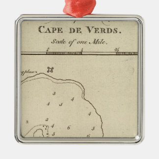 Port Praya, Cape de Verds Metal Ornament