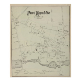 Port Republic, Galloway Tp, New Jersey Poster