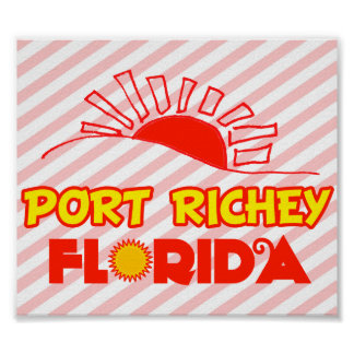 Port Richey, Florida Posters