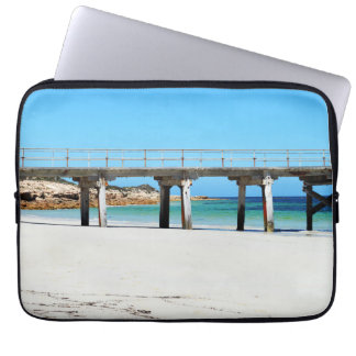 Port Rickaby, South Australia, Pier Laptop Sleeve
