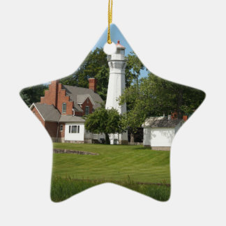 Port Sanilac Ceramic Ornament