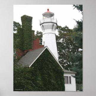 Port Sanilac Lighthouse Poster