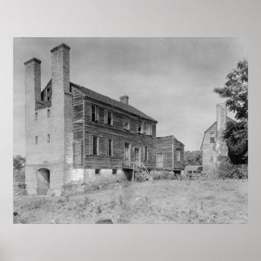 Port Tobacco Houses Print