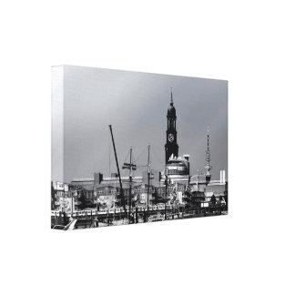 Port town center canvas print