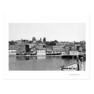 Port Townsend, WA Waterfront Town View Photograp Post Cards