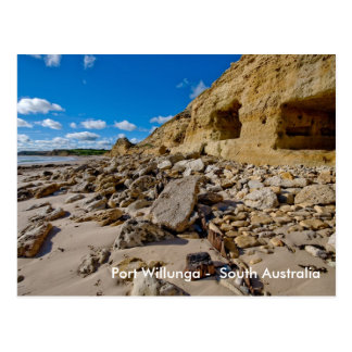 Port Willunga Caves, Port Willunga -  South Aus... Postcard