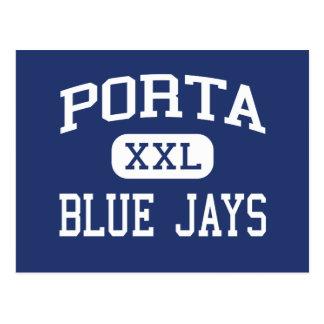 Porta - Blue Jays - Senior - Petersburg Illinois Postcard