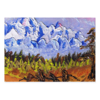 PORTABLE ART BUSINESS CARD TEMPLATES