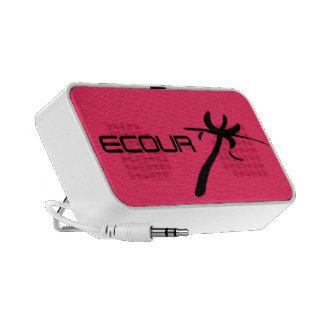 portable loudspeaker Doodle of design ecour Mini Speakers