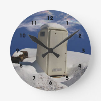 Portable Potty ~ Clock