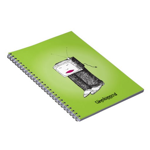 Portable TV Unplugged Notebook