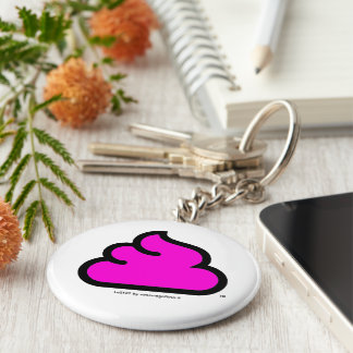 portachiavi Merda Fluorescent Key Ring