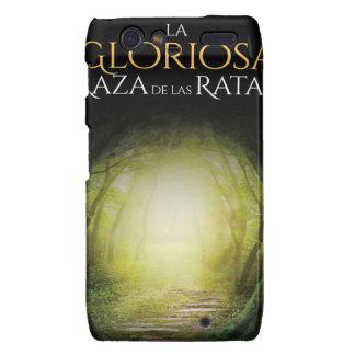 """Portada del libro """"La Gloriosa Raza de las Ratas"""" Motorola Droid RAZR Case"""