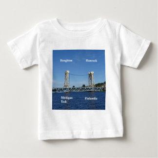 Portage Lake Lift Bridge Baby T-Shirt