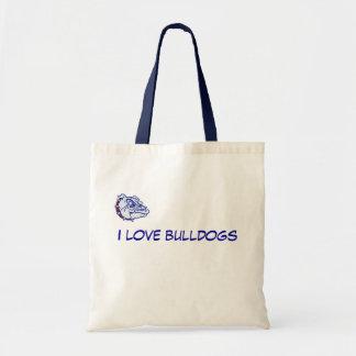 Portageville Bulldogs shoe or tote bag