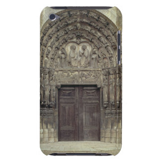 Portal and surrounding sculptures with biblical fi barely there iPod cases