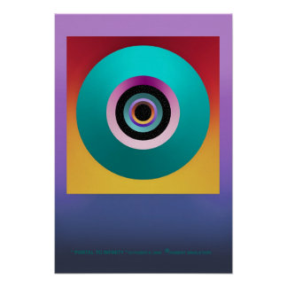 """"""" PORTAL TO INFINITY """" by: Robert Singletary Poster"""