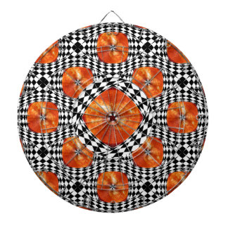 Portal to the Sun by Kenneth Yoncich Dartboard With Darts