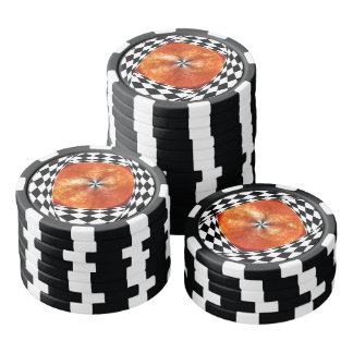 Portal to the Sun by Kenneth Yoncich Poker Chips
