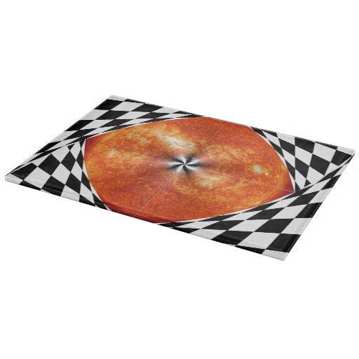 Portal to the Sun Cutting Board