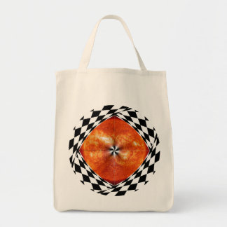 Portal to the Sun Grocery Tote Canvas Bags