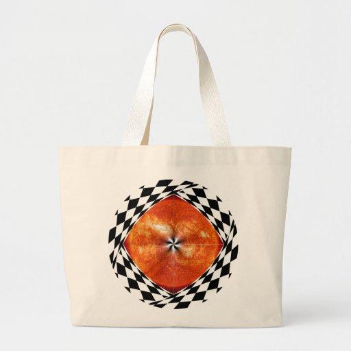 Portal to the Sun Jumbo Tote Bags