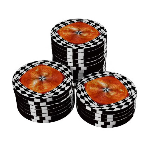 Portal to the Sun Poker Chips