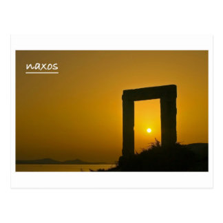 Portara, Temple of Apollo - Naxos postcard